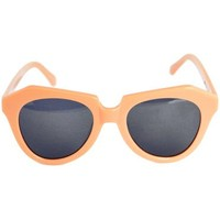 Karen Walker Peach Cat Eye Sunglasses