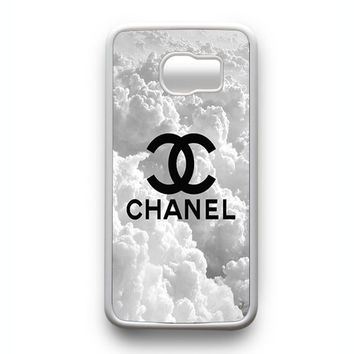 Chanel on sky Samsung Galaxy S6 Edge Case