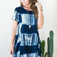 What a Paradise Tie Dye Dress