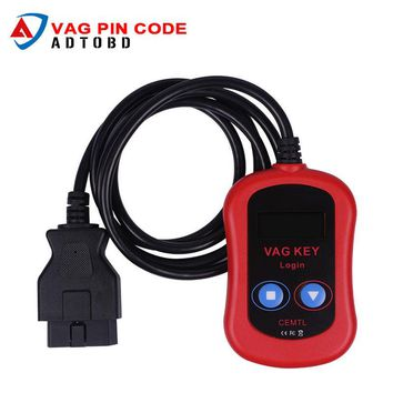 2017 High Quality VAG PIN Code Reader/Auto vag Key Programmer Device via OBD2 vag key login vag key programmer Free Shipping