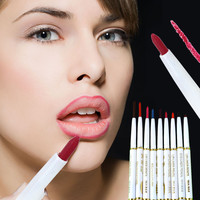 1Pcs Natural Brand Automatic Rotary Lip Liner Long-lasting Makeup Sexy Products Lipliner Lady Waterproof Beauty Red Lip Pencil