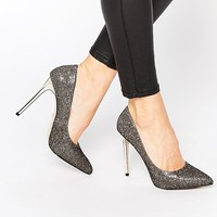 Missguided | Missguided Ombre Glitter Court Shoe at ASOS
