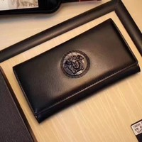 VERSACE MEN'S LEATHER WALLET