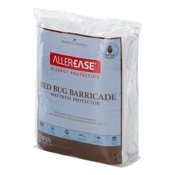 Home Classics Bed Bug Barricade Mattress Protector (White)