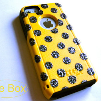 OTTERBOX iPhone 5C case, case cover iPhone 5C otterbox ,iPhone 5C otterbox case,otterbox iPhone 5C, otterbox, polka dots otterbox case