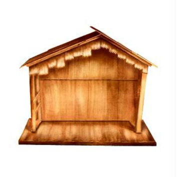 Nativity Stable Christmas Yard Art - Minor Assembly