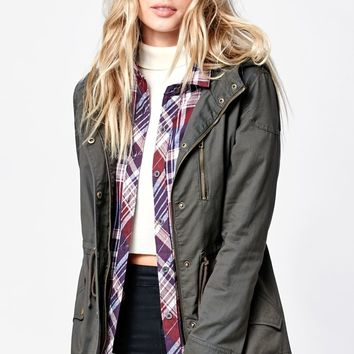 LA Hearts Lightly Lined Anorak Jacket - Womens Jacket