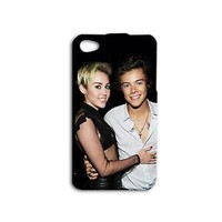 Hot Cute bf gf Phone Case Miley Cyrus Couple Cover iPhone Funny Pop Stars Cool