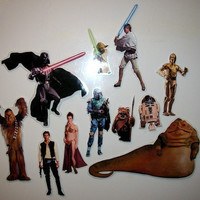 Star Wars magnet set