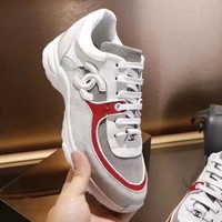 CHANEL 2018 Women's Fashion Stylish High Quality Sneakers F