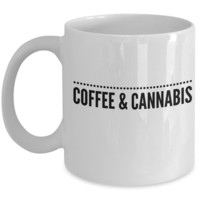 Coffee & Cannabis Mug Cup