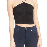 BP. Ruched Halter Top | Nordstrom