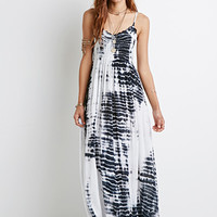 Tie-Dye Crochet Maxi Dress