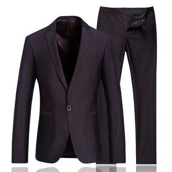 ICIKON3 jackets pantsluxury men suits slim custom fit tuxedobusinessDress wedding suits blazer men