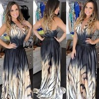 Fashion Prom Dress Ladies Sexy Sleeveless Backless Maxi Dress Formal Evening Party Date Cocktail Ball Gown Dress Bridesmaid Dress = 5841921089