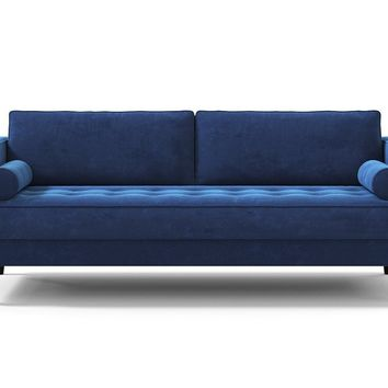Delilah Sofa in BLUEBERRY - CLEARANCE