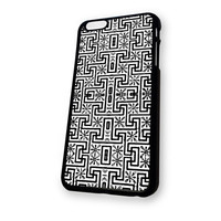 Black White Aztec Pattern iPhone 6 case