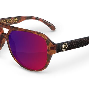 Supercat Sunglasses: Crocodile // Tortoise Hybrid Customs