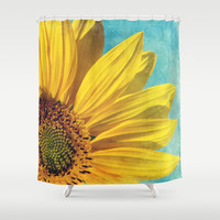 pure sunshine Shower Curtain by Sylvia Cook Photography