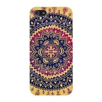 Doinshop New Nice Cute Hot Ethnic Tribal Indian Pattern Hard Case Cover for iPhone 4 4S 4GS