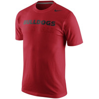 Georgia Bulldogs Nike 2014 Practice Training Day T-Shirt – Red