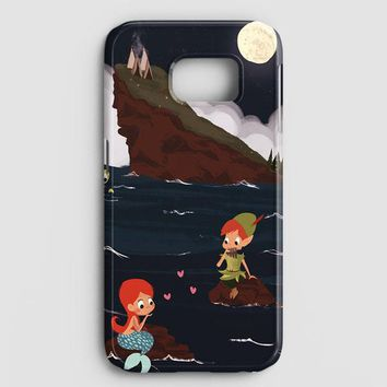 Peter Pan And Ariel Mermaid Samsung Galaxy Note 8 Case