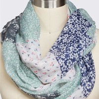 Ditsy Floral Eternity Scarf