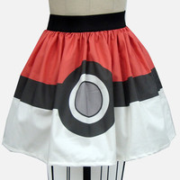 Pokeball Full Skirt