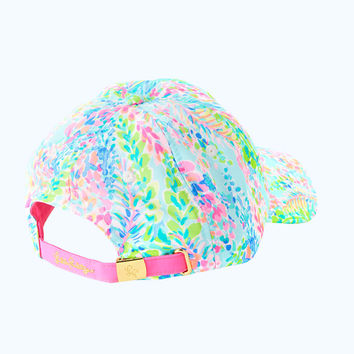 Run Around Hat | 27476-multicatchthewaveaccessoriessmall | Lilly Pulitzer