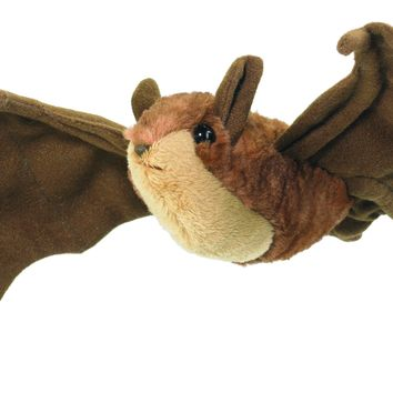 8 Inch Little Brown Bat Floppy Plush Zoo Stuffed Animals