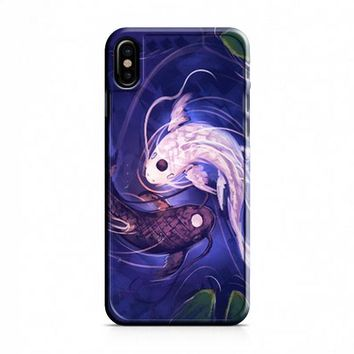 Fish Yin Yang iPhone X Case