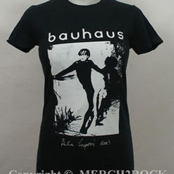 Authentic BAUHAUS Bela Lugosi's Dead Girl Juniors T-Shirt S M L Goth NEW