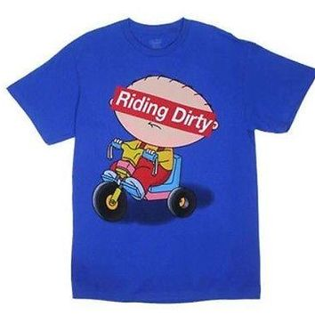 Family Guy T-Shirt Riding Dirty Adult Mens Tee S,M,L,XL,2XL