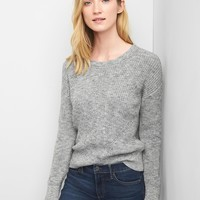 Back-strap ribbed sweater | Gap