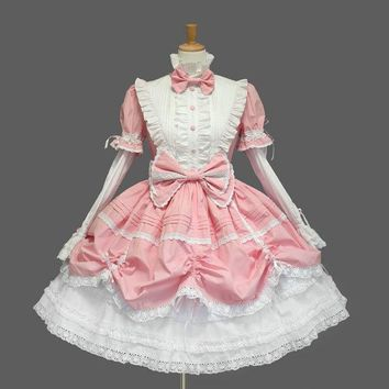 3 Styles Princess Dress Cinderella Halloween Victorian Gothic Lolita Dress Girl Cosplay Lolita Costume Layered Women Dress Wear