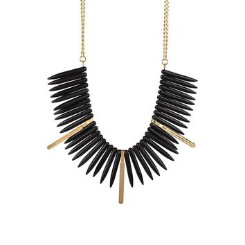 By Aqua Luna  Spike Necklace
