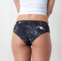 Holiday 10% Glow in the Dark Solar System Underwear Womens