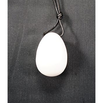 White Jade Yoni Egg- Small, Medium or Large