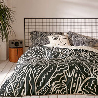 Kris Tate For DENY The Garden Duvet Cover - Urban Outfitters