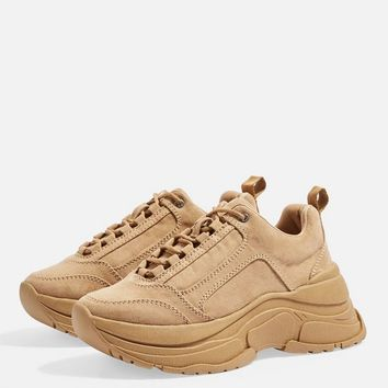 CELINA Tan Chunky Trainers | Topshop