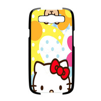 Hello Kity Patterns Samsung Galaxy S3 Case