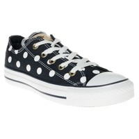 Converse Polka Dot Ox Trainers