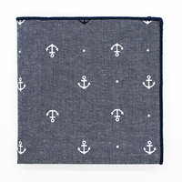 Tahoe Anchor Pocket Square