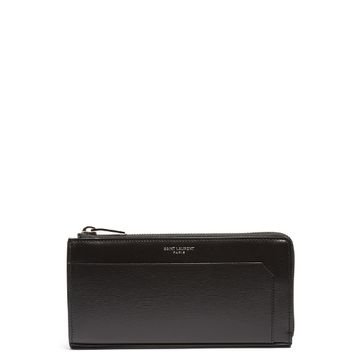 Smooth-leather continental wallet | Saint Laurent | MATCHESFASHION.COM US