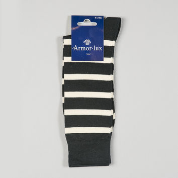 Armor-Lux Stripe Socks Navy/Nature