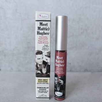 theBalm - Meet Matte Hughes Lip Color - Committed