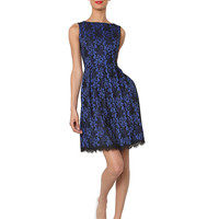 Women's Apparel | Holiday Attire | Sleeveless Floral Dress | Lord and Taylor