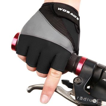 WOSAWE NEW Cycling Gloves Bicycle Motorcycle Sport Gel Half Finger Gloves M- XL Size New