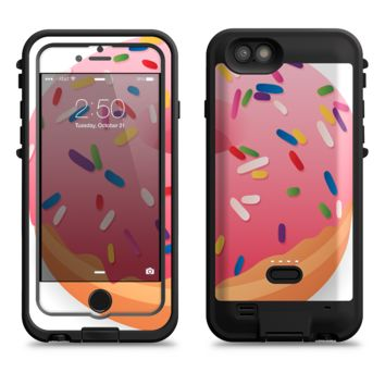 The Sprinkled 3d Donut  iPhone 6/6s Plus LifeProof Fre POWER Case Skin Kit