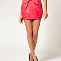 ASOS | ASOS Mini Skirt With Bow Detail at ASOS